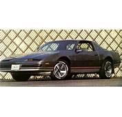 1982 1986 Pontiac Firebird Base The Forgotton
