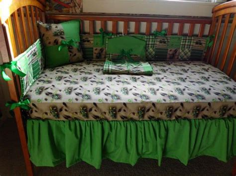 Custom 9pc John Deere Baby Crib Bedding Set New I Dig Dirt Deere Crib Bedding For Boys