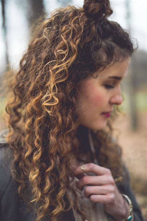 curly hairstyles ombre outfit and new curly ombre hair heylilahey
