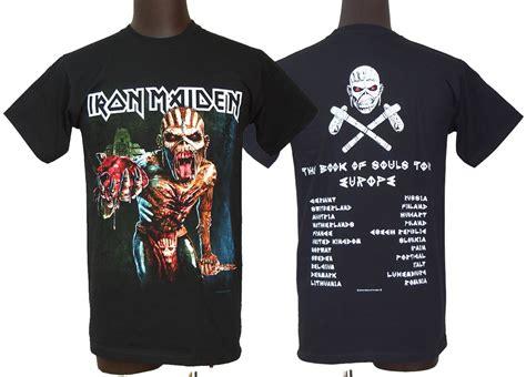 Iron Maiden European Tour Tees dragtrain rakuten global market go back print european