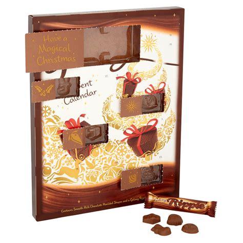 make chocolate advent calendar galaxy milk chocolate advent calendar b m