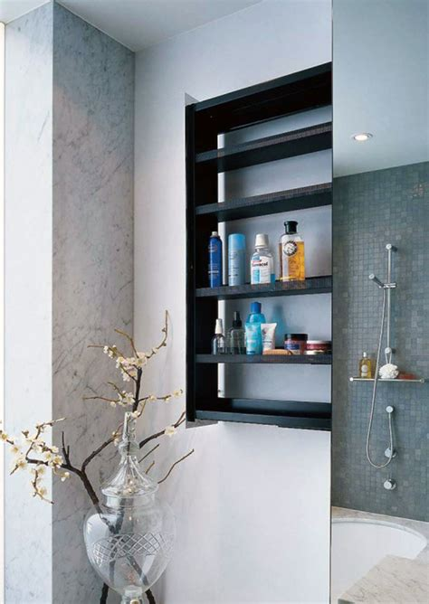 Best Bathroom Wall Shelving Idea To Adorn Your Room Shelving For Small Bathrooms