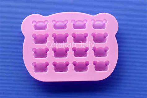 Cetakan Cokelat Puding Mickey 16 Cavity cetakan silikon coklat puding rilakkuma 16 cavity cetakan jelly cetakan jelly