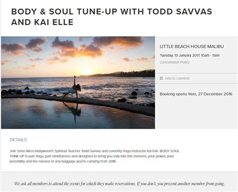 by todd on may 12 2016 in home business internet business event little beach house malibu body soul tune up