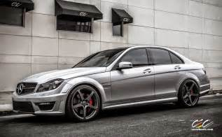 W204 Mercedes Mercedes W204 C63 Amg With Cec C884 Wheels Benztuning