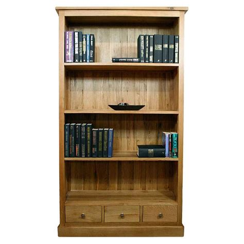 Oak Bookcase With Drawers by 50 Solid Oak Bookcase With Drawers Glenmore