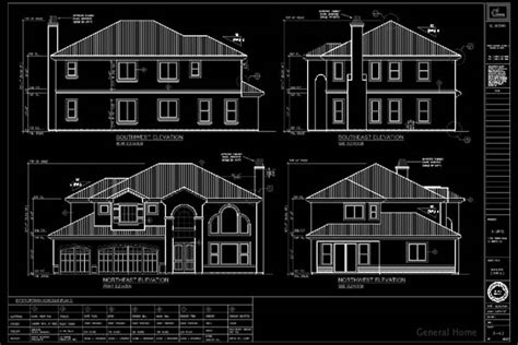 Sample Floor Plan With Dimensions Autocad Drafting El Monte Pud General Home
