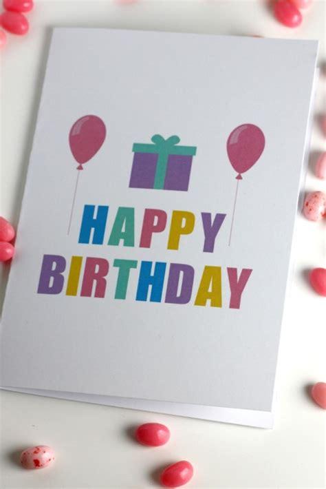 printable birthday cards diy step by step tutorials on how to make diy birthday cards