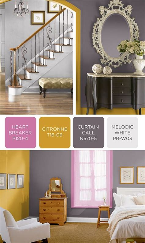 showcase your show stopping personality by incorporating this unique color scheme of behr paint