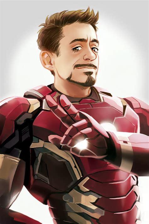 Iron Is Tony Stark mcu iron tony stark by hallpen on deviantart