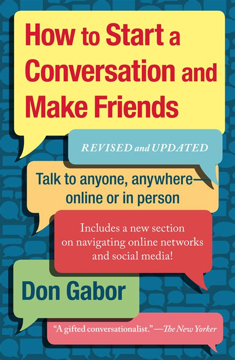 how to start a picture book how to start a conversation and make friends book by don