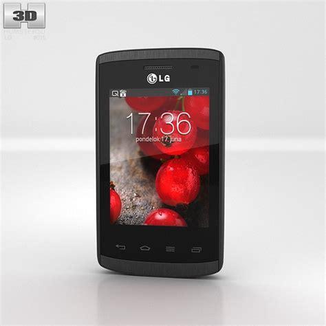 Lg E410 lg optimus l1 ii e410 3d model hum3d
