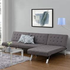 emily convertible futon gray linen daybeds futons sleeper sofas 12 resources for small