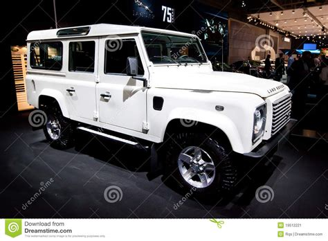 land rover jeep cars white jeep car land rover editorial photo image of mirror