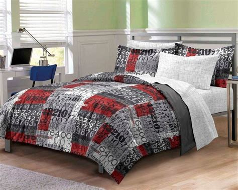 boys comforter sets twin beds new number time boys bedding comforter sheet set twin twin xl