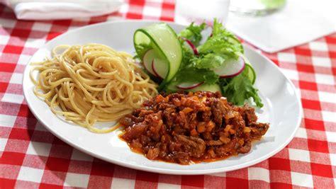 Spghetti Bolognese spagetti bolognese matprat