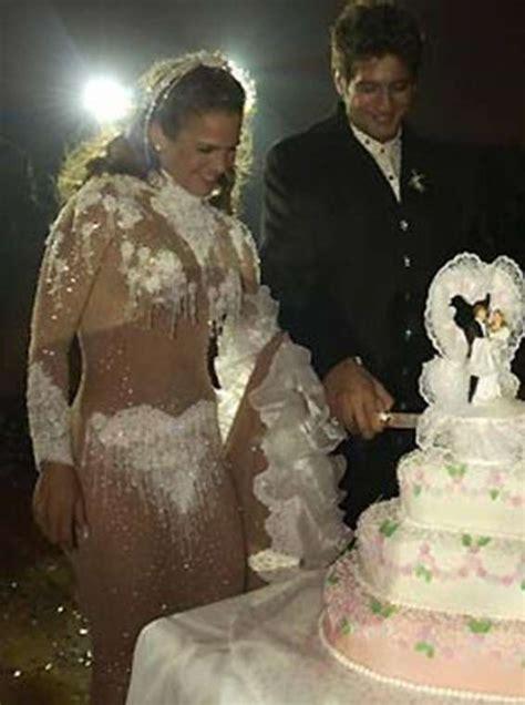 Imagenes Del Vestido De Novia De Niurka | los peores vestidos de novia que hemos visto nunca humor