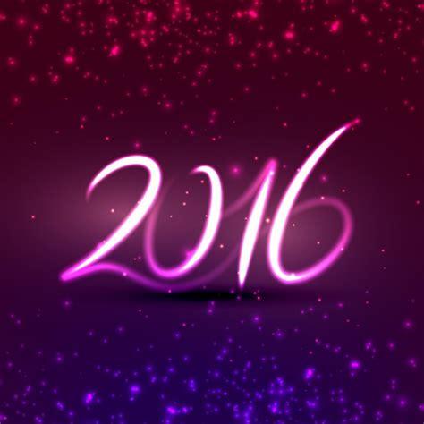 imagenes feliz año nuevo 2016 luz de neon fotos y vectores gratis