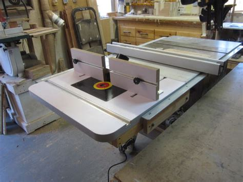 table saw router combo table saw and router table combo problem resolved by