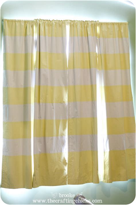 diy striped curtains diy striped blackout curtains using scotchblue painter s