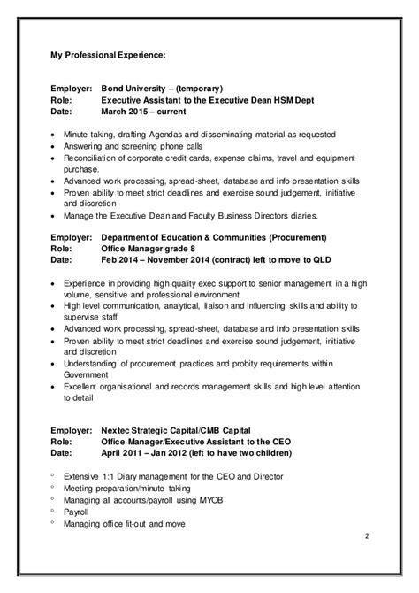 resume fields resume ideas
