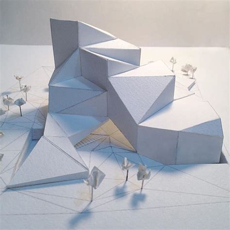 Architecture Origami - 25 best ideas about folding architecture on