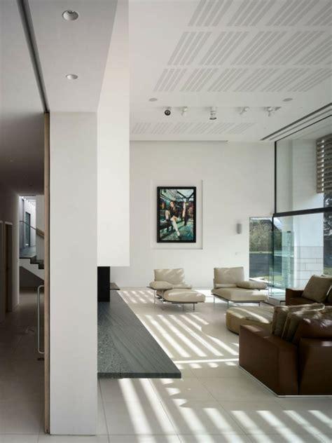 Wohnzimmer Manchester by Zwei Rechteckige Volumen Ein Haus In Manchester