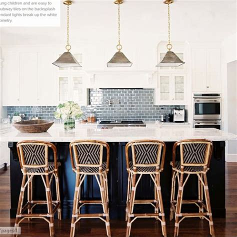 Blue Bar Stools Kitchen Furniture Copy Cat Chic Serena And Riviera Counter Stool