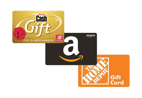 Third Party Gift Cards - earn points speedy rewards speedway