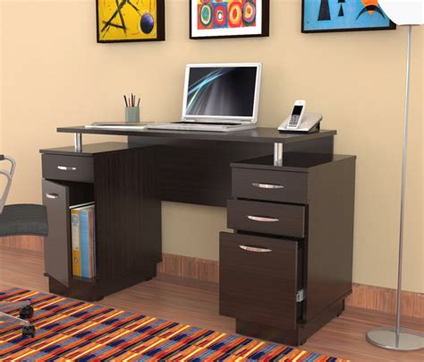 furniture modern narrow computer desk narrow oak computer