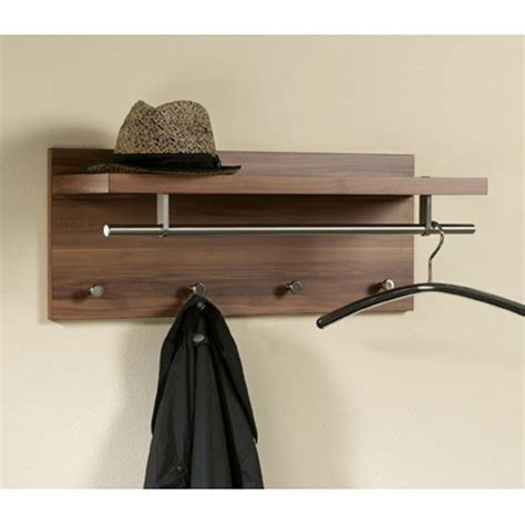 pablo3 walnut wall mounted hallway stand buy coat rack wall mounted wooden