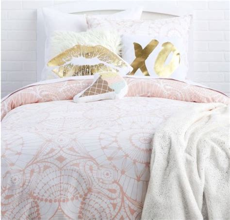 blush colored bedding make me blush collection available on dormify com dorm