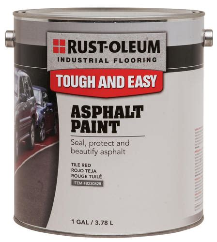 rust oleum 174 industrial flooring tile asphalt paint 1 gal at menards 174