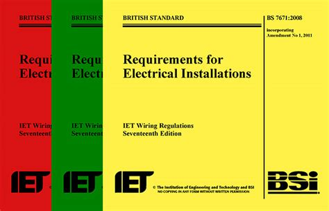 electrical wiring regulations 17th edition wiring regulations 2008 2015 bs7671