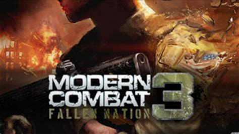free modern combat 3 apk android apk modern combat 3 fallen nation apk android