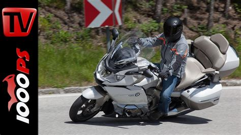 Bmw Motorrad 6 Zylinder Test by Video Testvideo Bmw K 1600 Gtl Exklusiv Fahreindruck