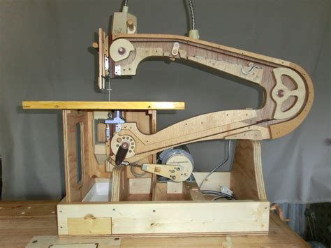 Handmade Machine - scroll saw