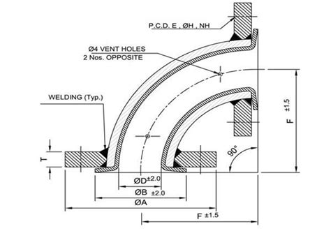 teflon diagrams dipflon engineering ptfe lined pipe sight flow