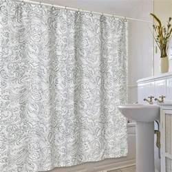 adams curtains beaumont fabric shower curtain by jennifer adams
