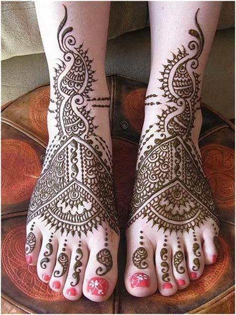 beautiful bridal mehndi designs  feet legs