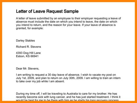 sick application letter company 11 leave application letter for company nanny resumed