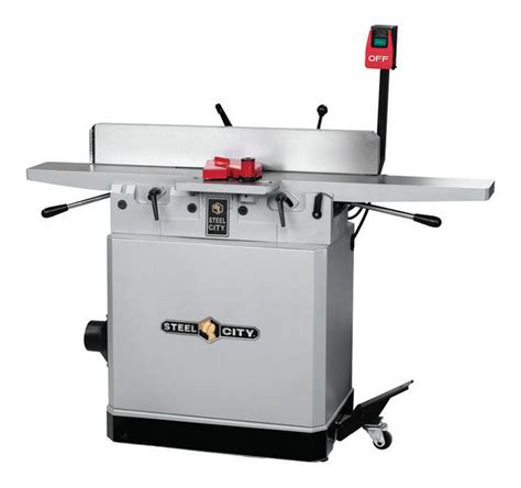 jointer reviews woodworking review steel city 6 quot industrial parallelogram jointer