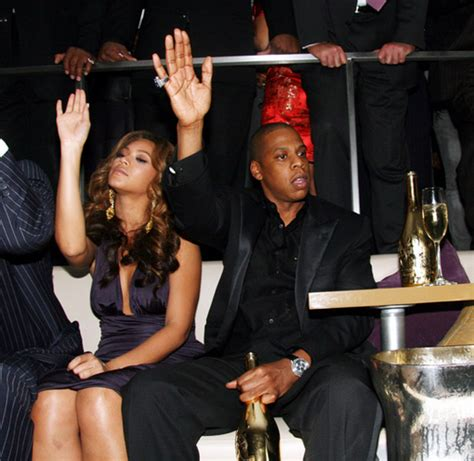 Rapper Jay Z And Beyonce Drop 100,000 On Drinks At The