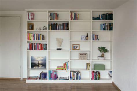 witte boekenkast het interieur witte boekenkast