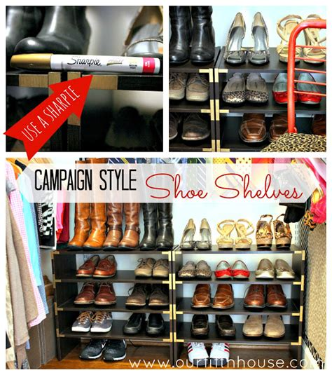 diy shoe storage solutions 10 diy shoe storage solutions you put it up