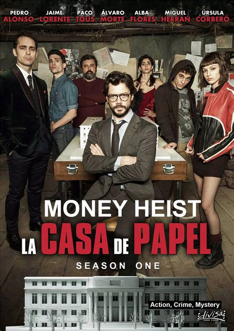 la casa de papel money heist posters retro coated paper art wall home decoration  calendar