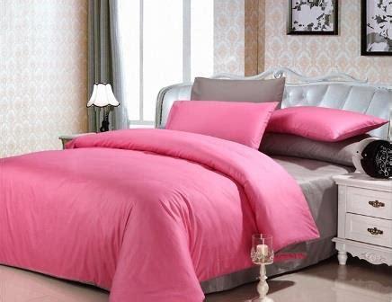 Sprei 10020020 Polos Pink Katun Panca sprei polos pelangi bedcover kombinasi grosir murah
