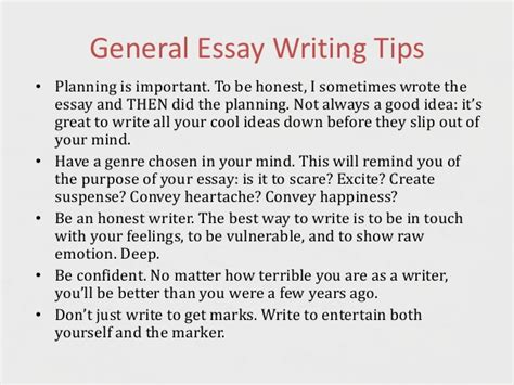 tips on writing a paper tips on writing creative essays creative writing 101