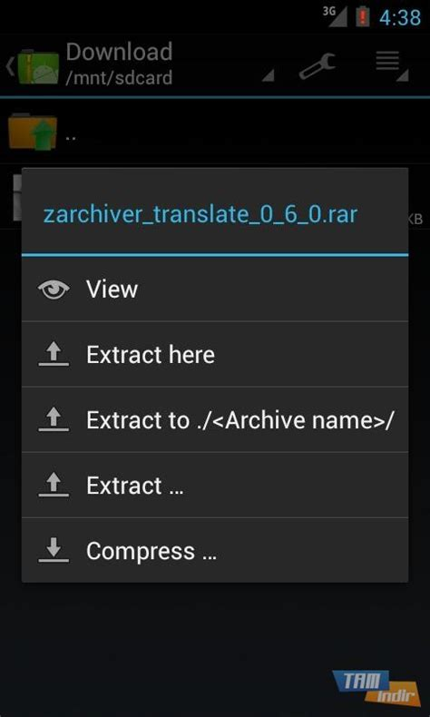 zarchiver android zarchiver indir android i 231 in sıkıştırılmış dosya y 246 neticisi mobil tamindir