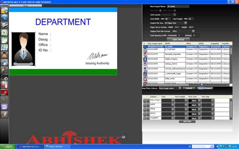 id card design software review id card designer software download